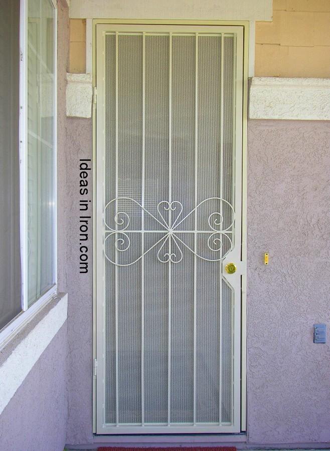 Security Screen Doors Tall Security Screen Door